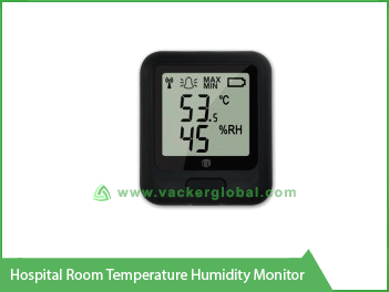 Hospital Room Temperature Humidity Monitor Vacker Africa