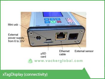 Refrigerator remote monitoring screen Vacker Africa