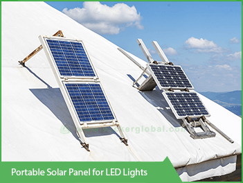 Portable-LED-solar-panel-for-led